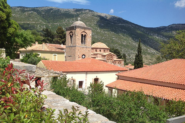 The Monastery of the Venerable Saint Luke (Hosios Loukas)