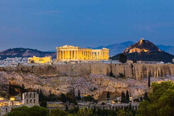 Athens---Acropolis-&-Lycabettus
