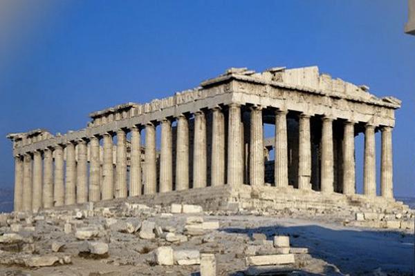 Athens---The-Parthenon